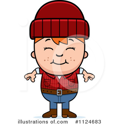 Lumberjack Clipart #1124683 by Cory Thoman