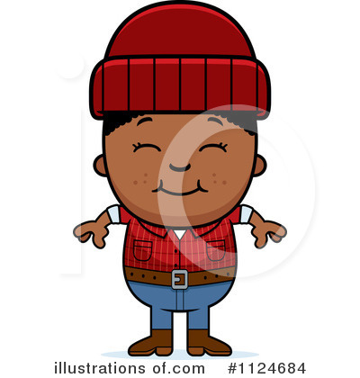 Lumberjack Clipart #1124684 by Cory Thoman