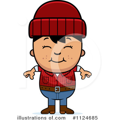 Lumberjack Clipart #1124685 by Cory Thoman