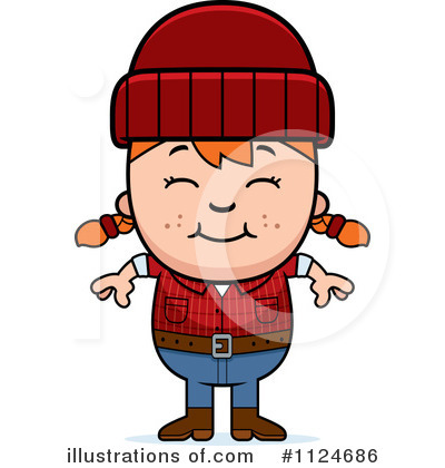 Lumberjack Clipart #1124686 by Cory Thoman
