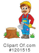Royalty-Free (RF) Lumberjack Clipart Illustration #1201515