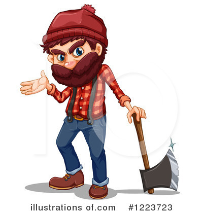 Axe Clipart #1223723 by Graphics RF