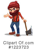 Lumberjack Clipart #1223723 by Graphics RF