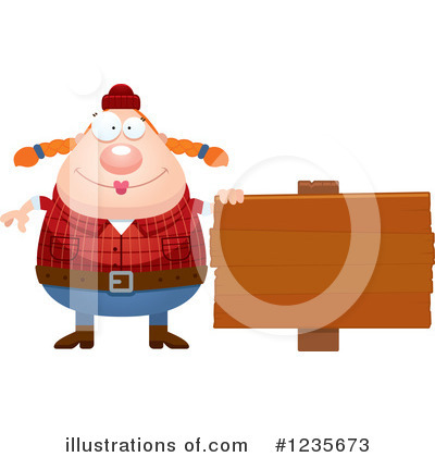 Lumberjack Clipart #1235673 by Cory Thoman