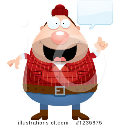 Lumberjack Clipart #1235675 by Cory Thoman