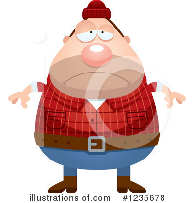 Lumberjack Clipart #1235678 by Cory Thoman