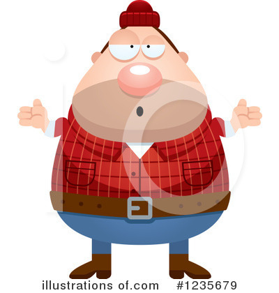 Lumberjack Clipart #1235679 by Cory Thoman