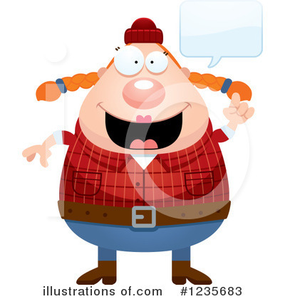 Lumberjack Clipart #1235683 by Cory Thoman