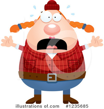 Lumberjack Clipart #1235685 by Cory Thoman