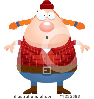 Lumberjack Clipart #1235688 by Cory Thoman
