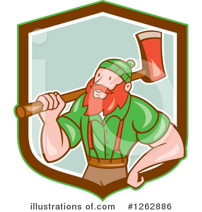 Forester Clipart #1262886 by patrimonio