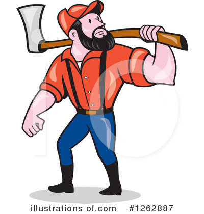 Forester Clipart #1262887 by patrimonio