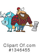 Royalty-Free (RF) Lumberjack Clipart Illustration #1346455