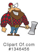 Royalty-Free (RF) Lumberjack Clipart Illustration #1346456
