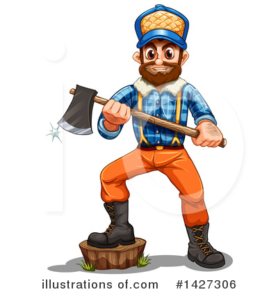 Lumberjack Clipart #1427306 by Graphics RF