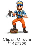 Royalty-Free (RF) Lumberjack Clipart Illustration #1427306