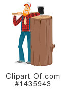 Royalty-Free (RF) Lumberjack Clipart Illustration #1435943