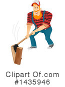 Royalty-Free (RF) Lumberjack Clipart Illustration #1435946