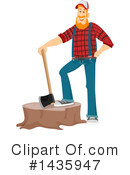 Royalty-Free (RF) Lumberjack Clipart Illustration #1435947