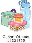 Lunch Clipart #1321855 by BNP Design Studio