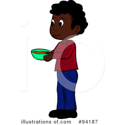 Royalty-Free (RF) Lunch Clipart Illustration by Pams Clipart - Stock Sample #94187