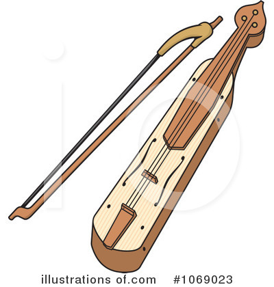 Lyre Clipart #1069023 by Any Vector