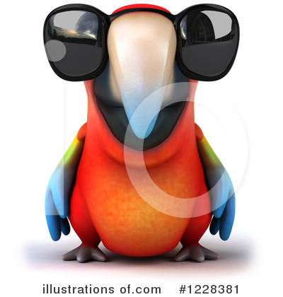 Royalty-Free (RF) Macaw Clipart Illustration by Julos - Stock Sample #1228381