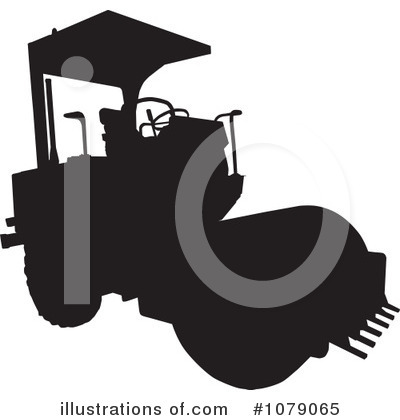 Road Roller Clipart #1079065 by patrimonio