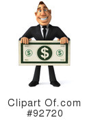 Macho Businessman Clipart #92720 by Julos