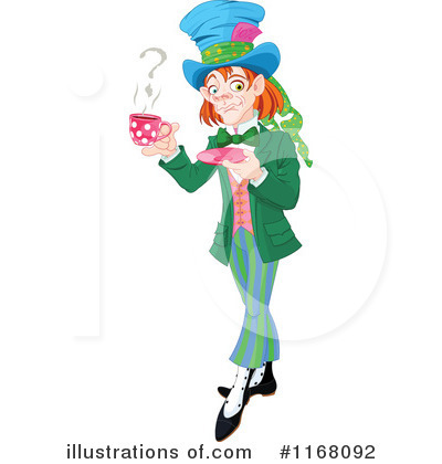 Alice In Wonderland Clipart #1168092 by Pushkin