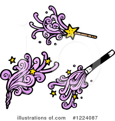 Magic Wand Clipart #1224087 by lineartestpilot