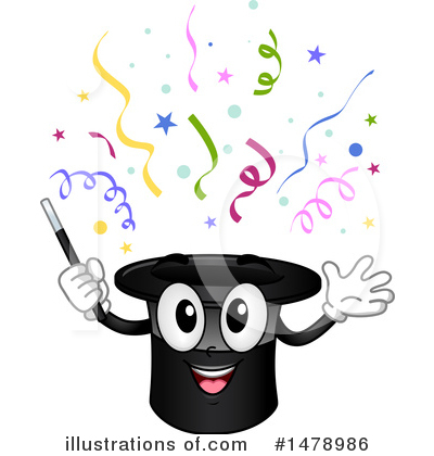 Magician Clipart #1478986 by BNP Design Studio