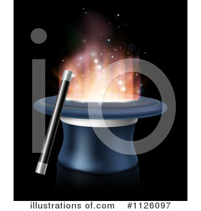 Magician Clipart #1126097 by AtStockIllustration