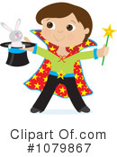 Magician Clipart #1079867 by Maria Bell