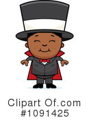 Magician Clipart #1091425 by Cory Thoman