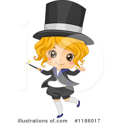 Magician Clipart #1186017 by BNP Design Studio