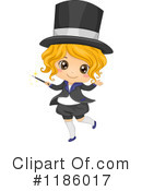 Royalty-Free (RF) Magician Clipart Illustration #1186017