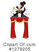 Royalty-Free (RF) Magician Clipart Illustration #1279205