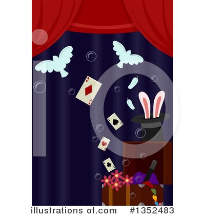 Magician Clipart #1352483 by BNP Design Studio