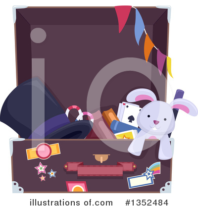 Magician Clipart #1352484 by BNP Design Studio