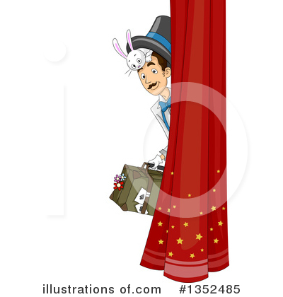 Magician Clipart #1352485 by BNP Design Studio