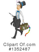 Royalty-Free (RF) Magician Clipart Illustration #1352487