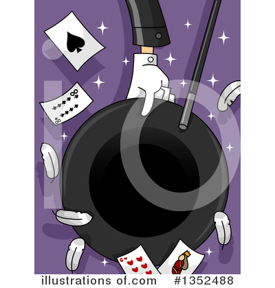 Magician Clipart #1352488 by BNP Design Studio