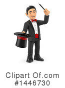 Magician Clipart #1446730 by Texelart