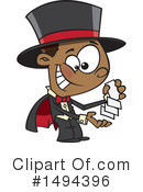 Magician Clipart #1494396 by toonaday
