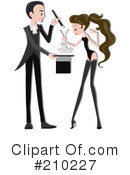 Magician Clipart #210227 by BNP Design Studio