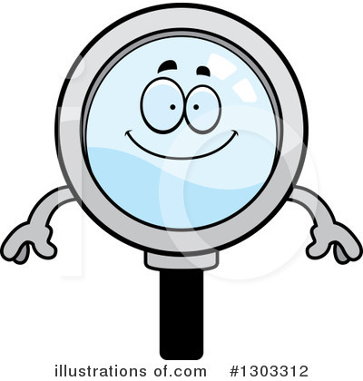 Searching Clipart #1303312 by Cory Thoman