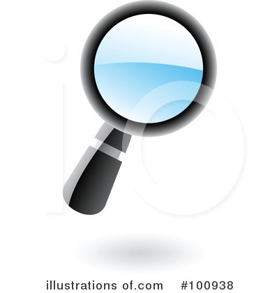 Magnifying Glass Clipart #100938 by cidepix