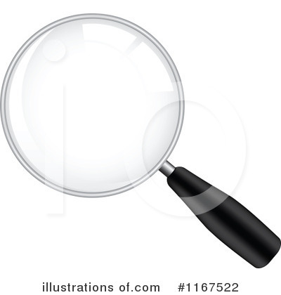 Magnifying Glass Clipart #1167522 by Andrei Marincas