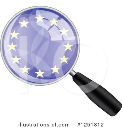 Magnifying Glass Clipart #1251812 by Andrei Marincas